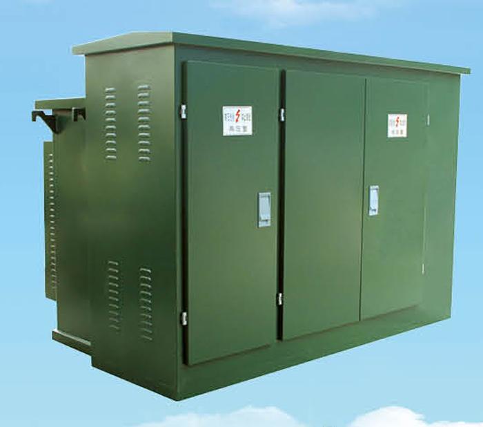 宜昌箱式变电站----YBW(ZGS)型组合式箱式变电站(美式)